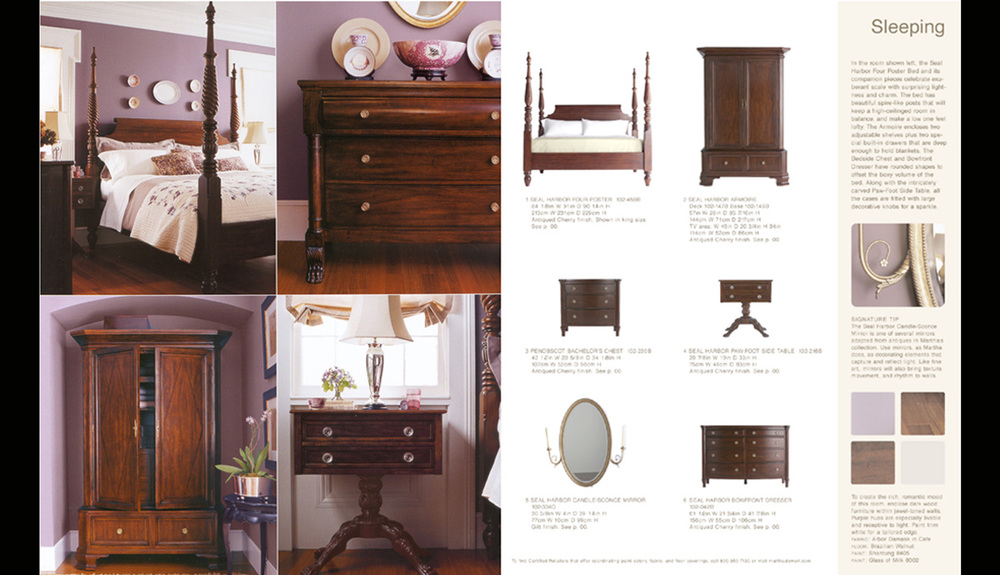 Martha Stewart Signature Furniture Catalogue