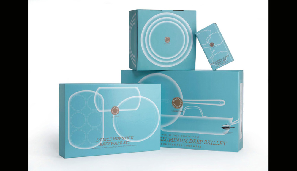 Martha Stewart Collection for Macy's Packaging