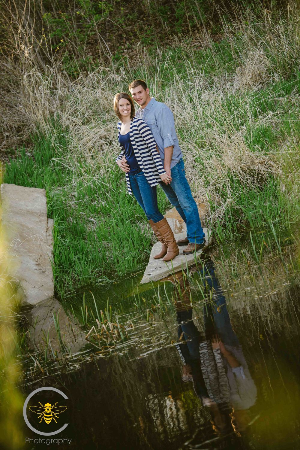 Bee-C-Photography-Engagement-Rustic-Adorable Couple-8.jpg
