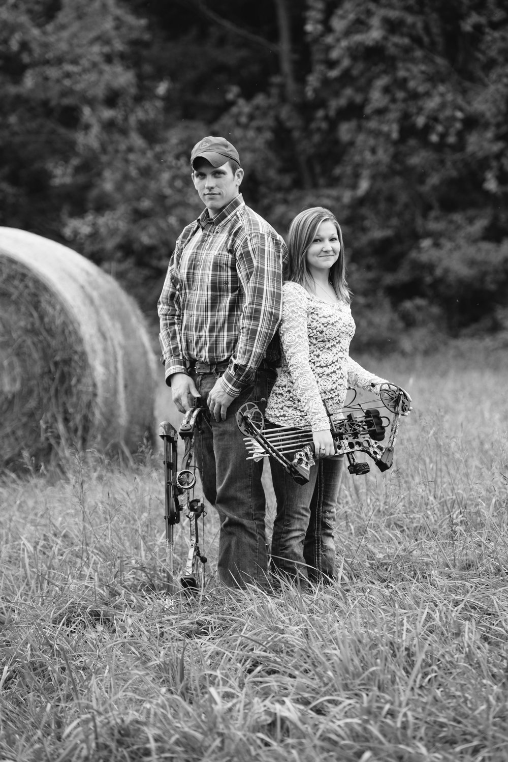Hunting engagement photos