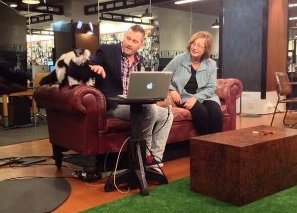 Pat was interviewed by Josh Zepps on World Brief. They were joined by three lemurs, ambassadors for Endangered Species Day! Watch the interview here!