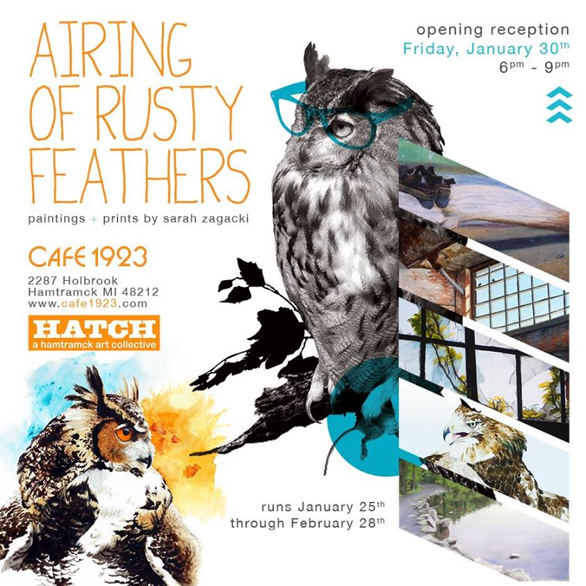 Sarah Zagacki: Airing of Rusty Feathers