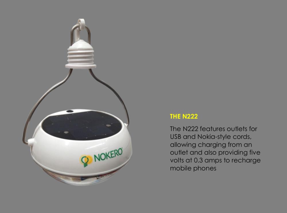 N222 solar light bulb