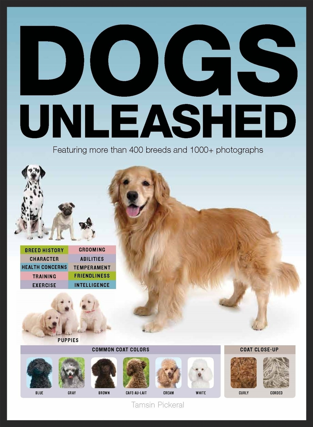 "Dogs Unleashed  Client: Thunder Bay (imprint of Baker & Taylor)  Specifications: 320-page book, 9"" x 12"", 4-color throughout"