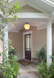 Front Door Portico