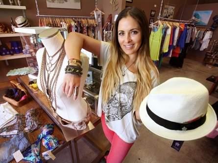 Owner Meghan Marie Mackie at her original location in 2010.