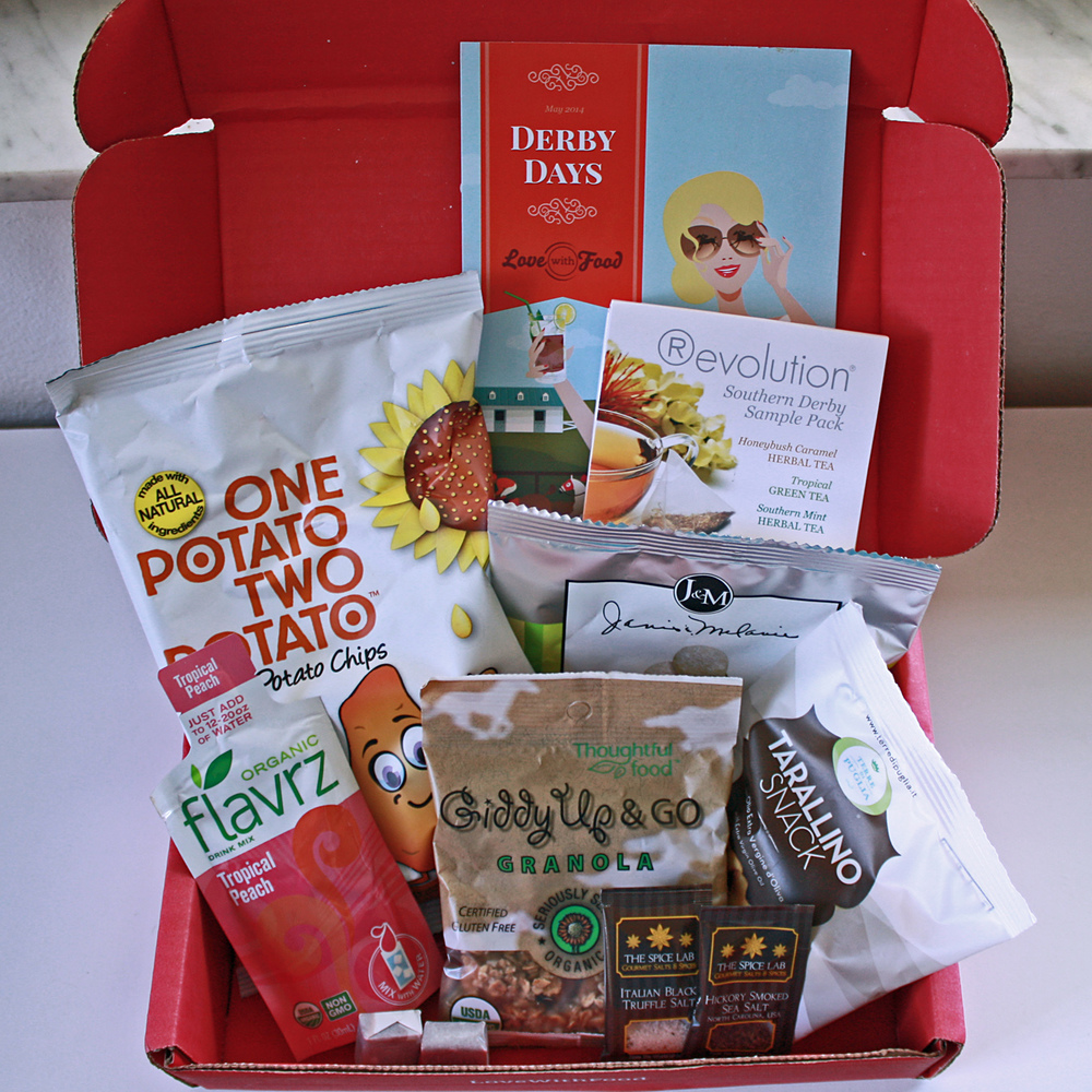 Derby Days snack box from Love with Food