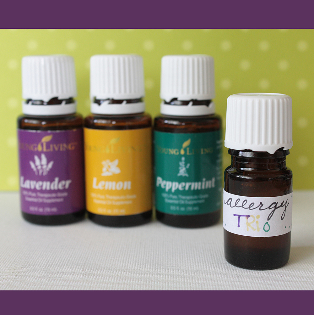 "The Young Living ""Allergy Trio"" of Lavender, Lemon & Peppermint!"