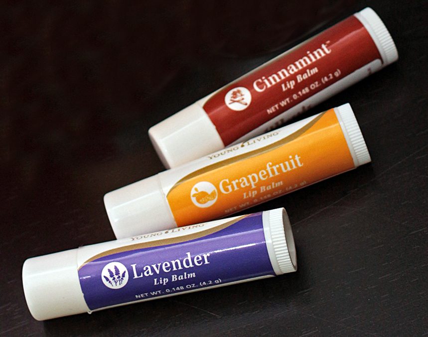 Young Living Lip Balm Trio