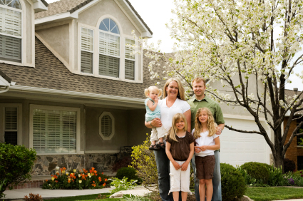 Family looking for houses after obtaining pre-approved home loans.jpg