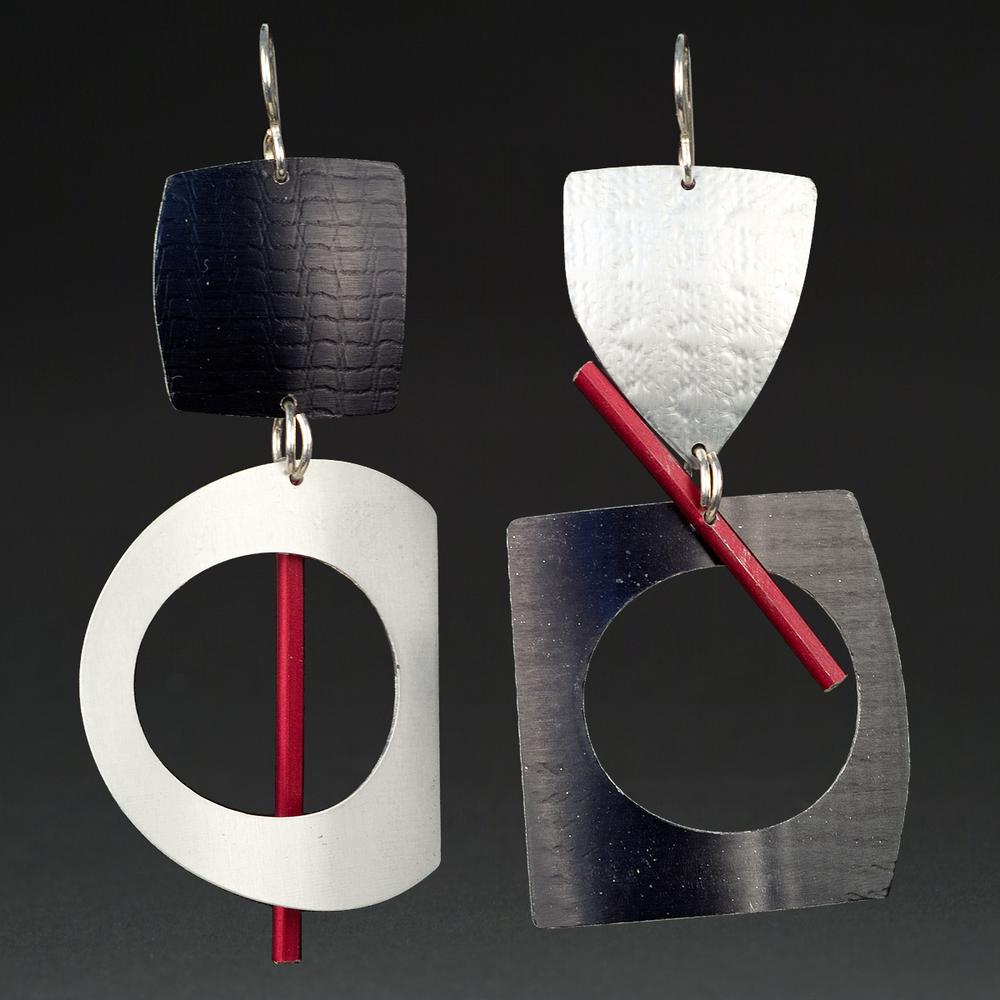 B - Black, Silver, Red