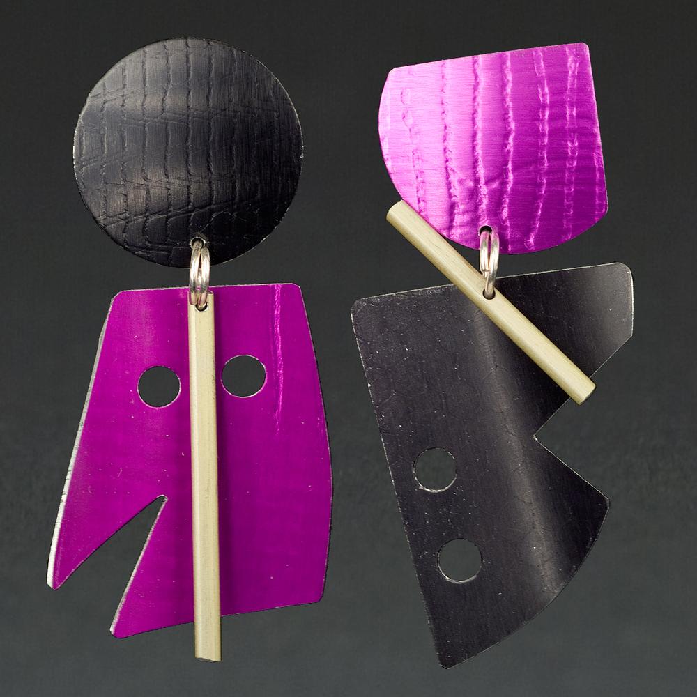 A - Black, Violet, Chablis