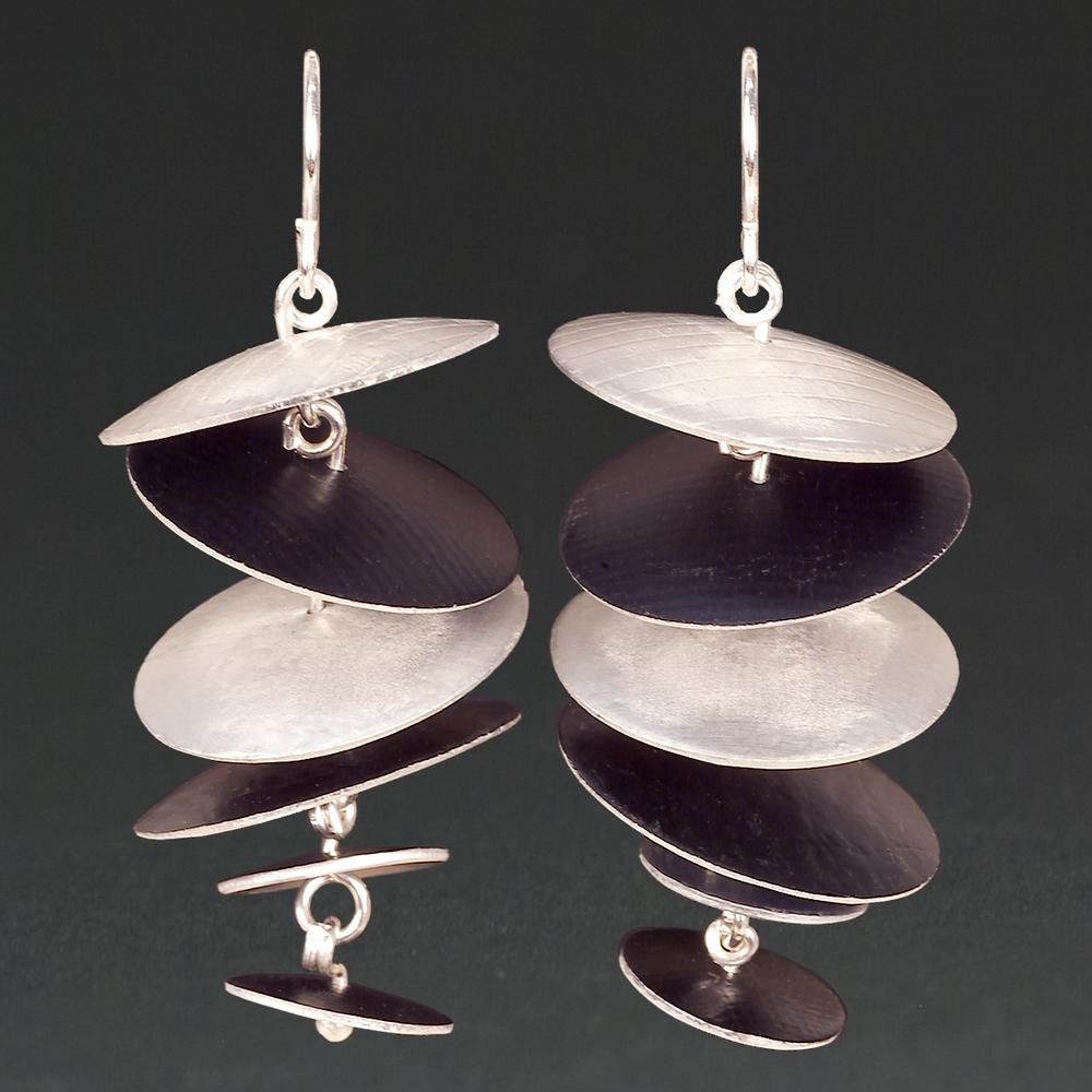 F - Silver, Black