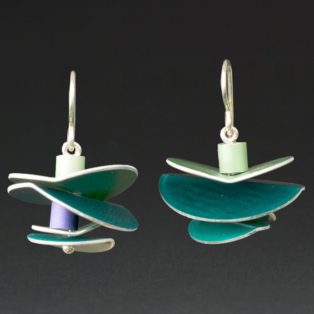 E - Turquoise, Lime