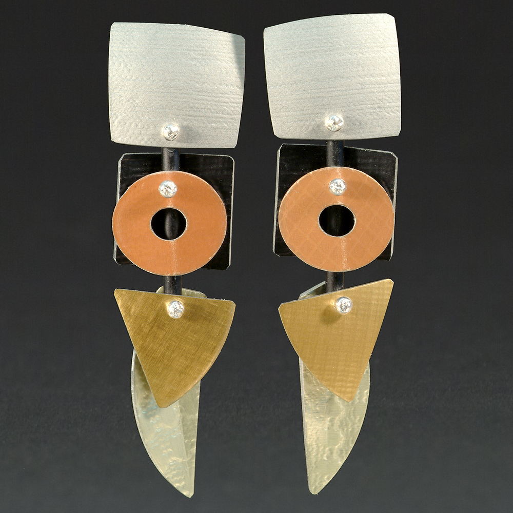 E - Silver, Orange, Gold, Chablis