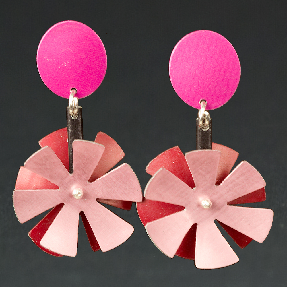 B - Berry, Rust, Pink
