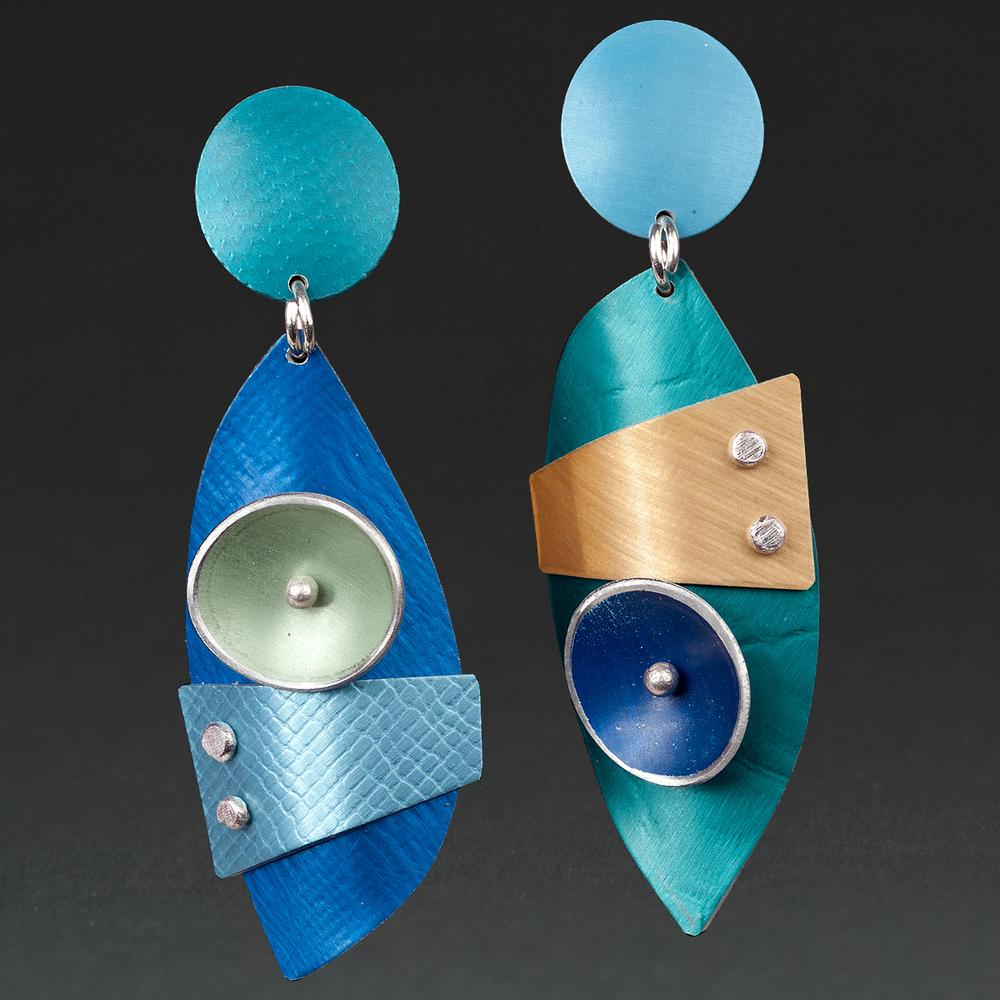 A - Turquoise, Aqua, Royal, Chablis