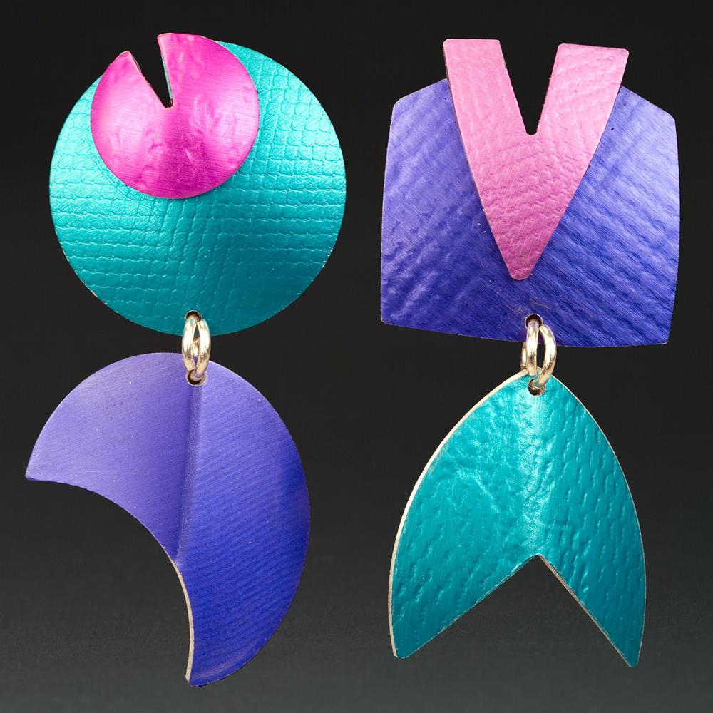E - Turquoise, Berry, Purple