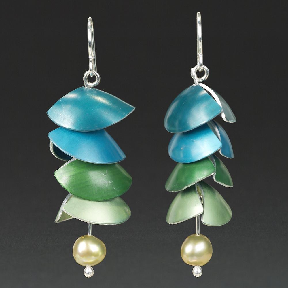C- Turquoise, Aqua, Green, Lime