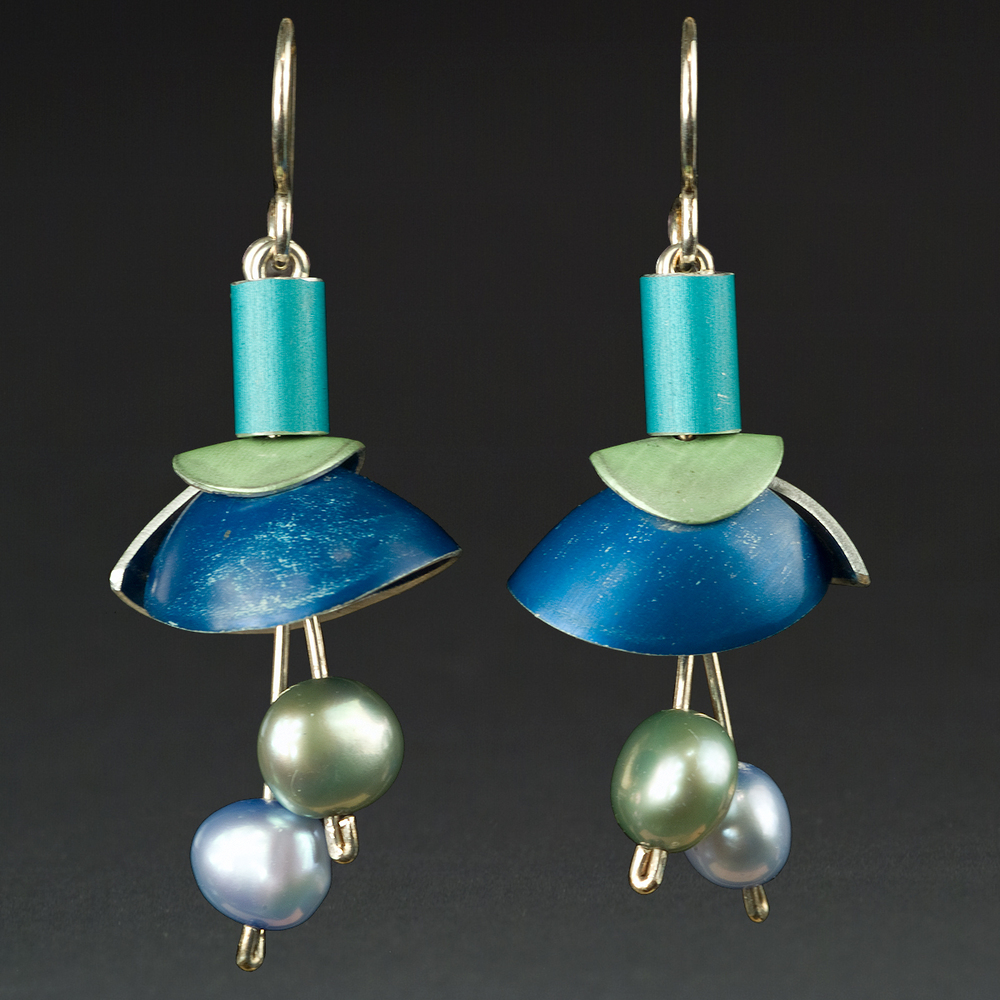E - Turquoise, Lime, Royal