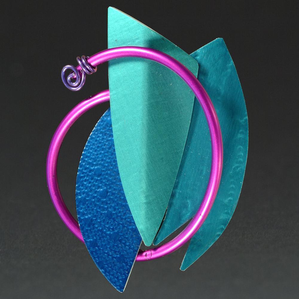 E - Royal, Turquoise, Aqua