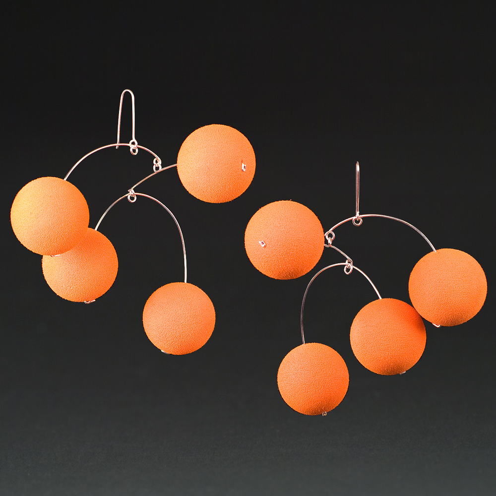 Orange Rubber Balls