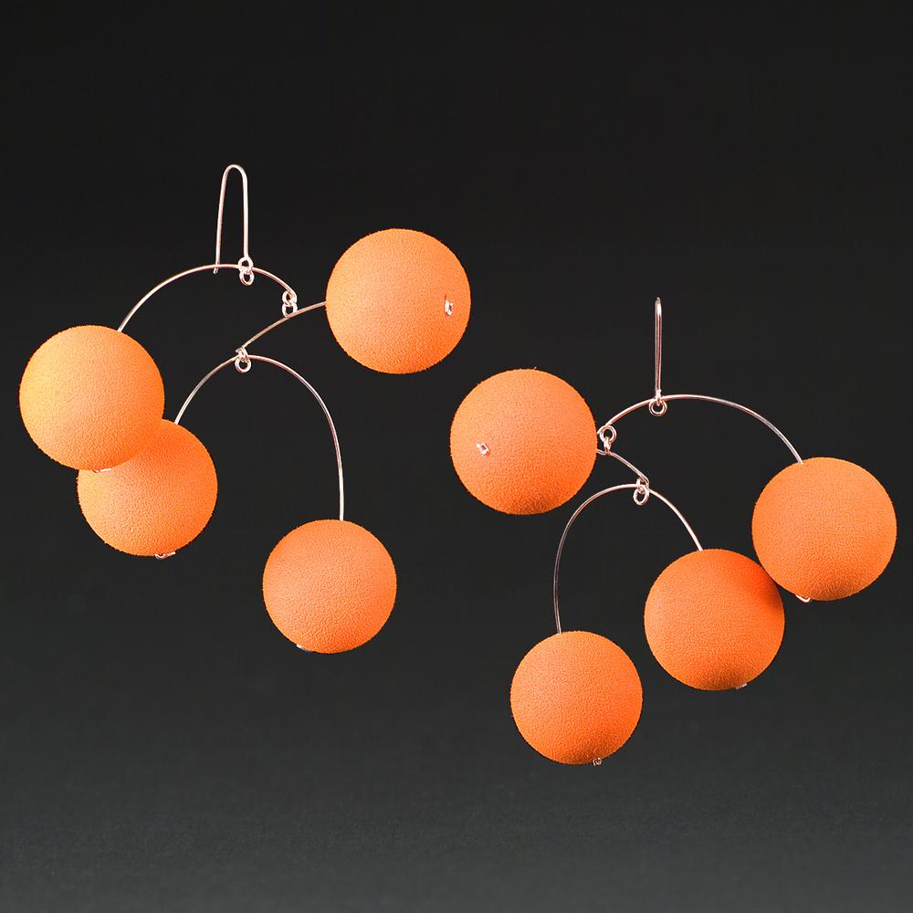 Orange Rubber Balls
