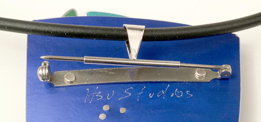 Slide tube onto pin stem.