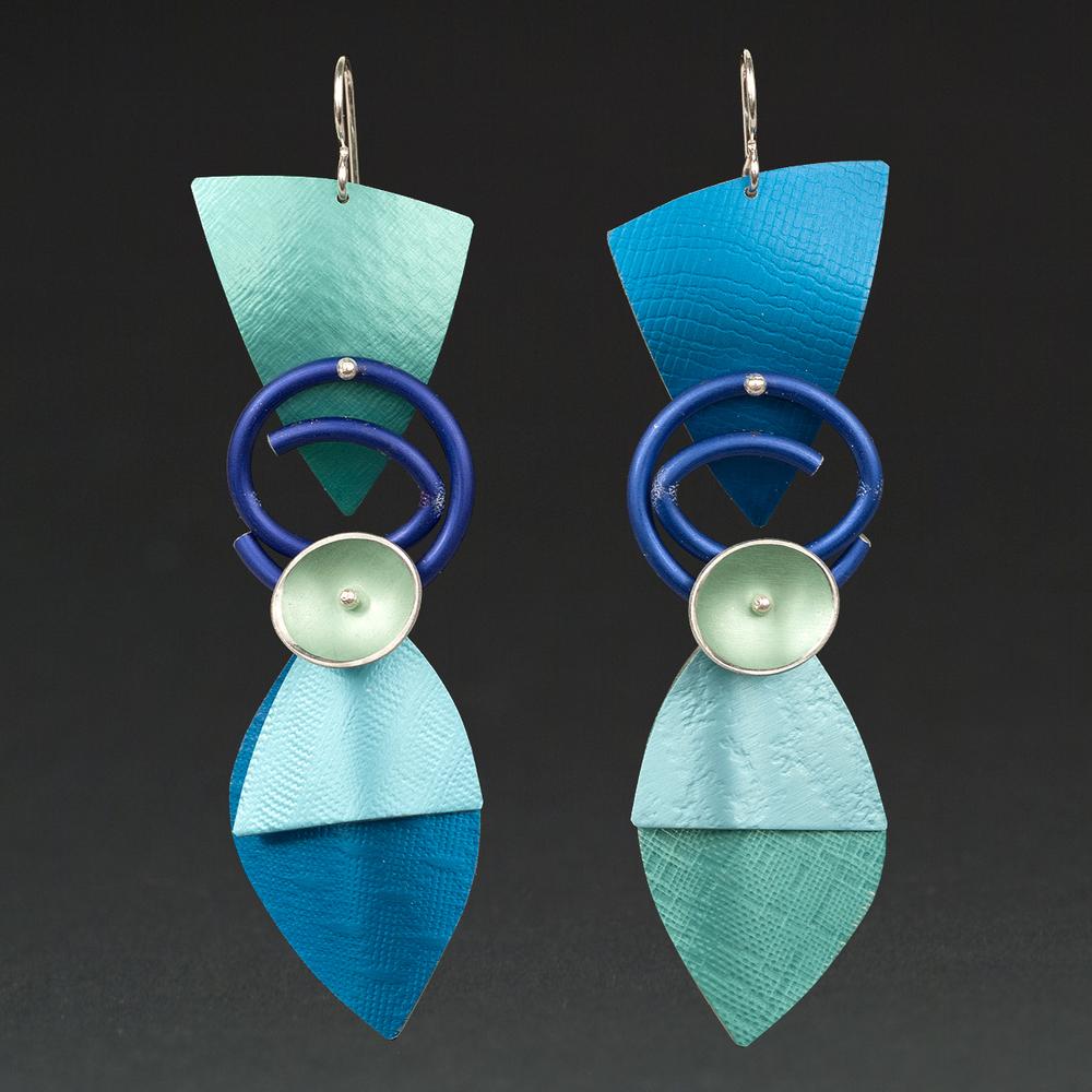 E - Turquoise, Royal, Aqua