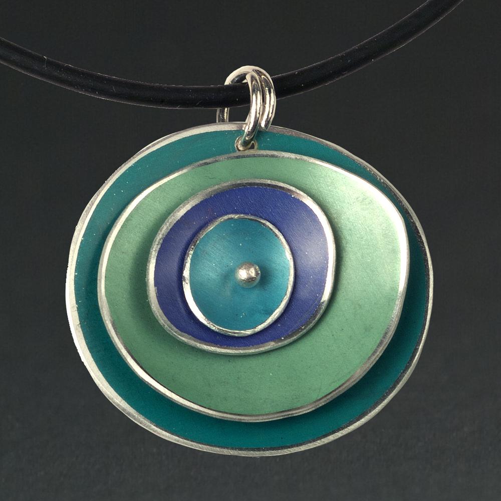 A - Turquoise, Lime, Purple, Aqua
