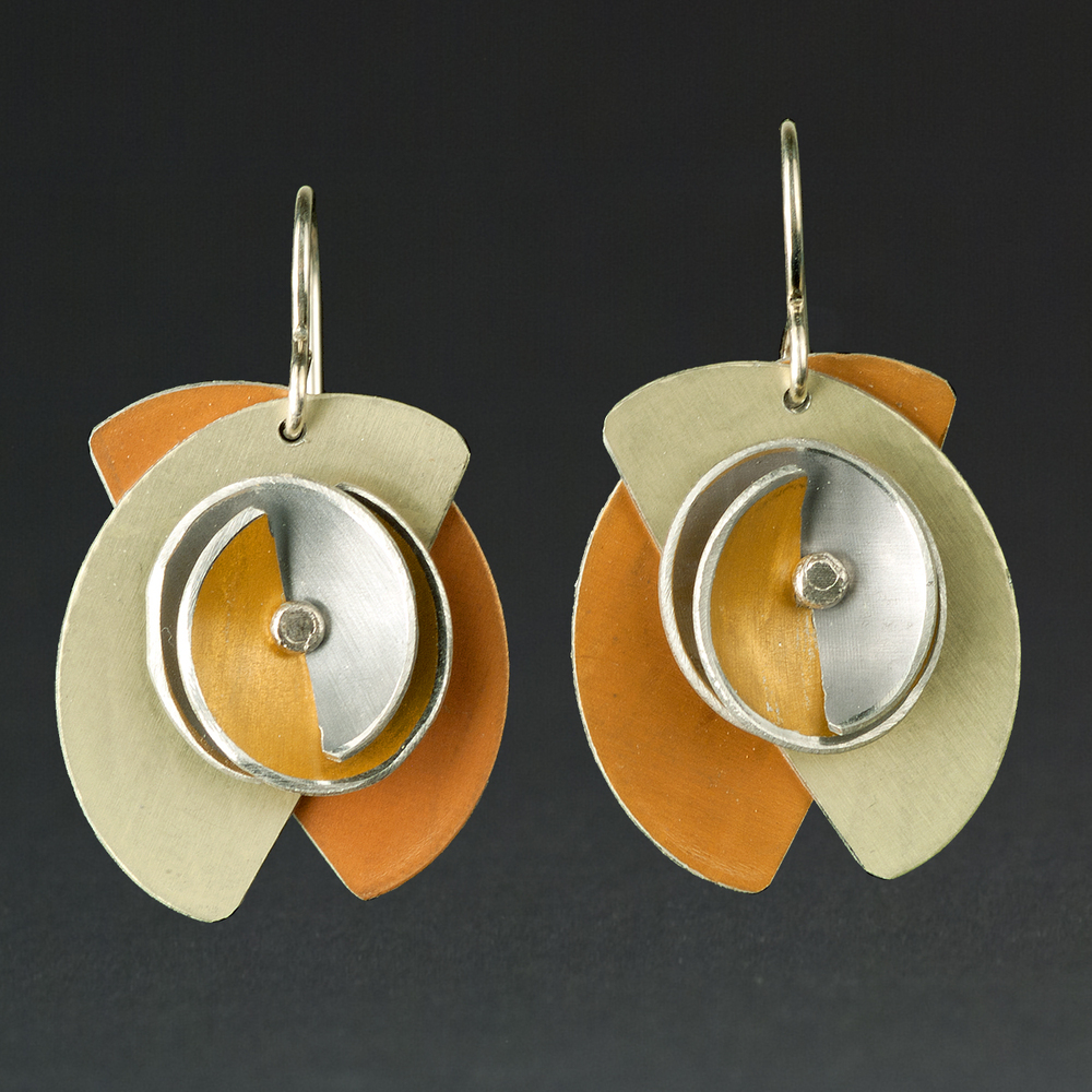 D - Orange, Chablis, Gold, Grey