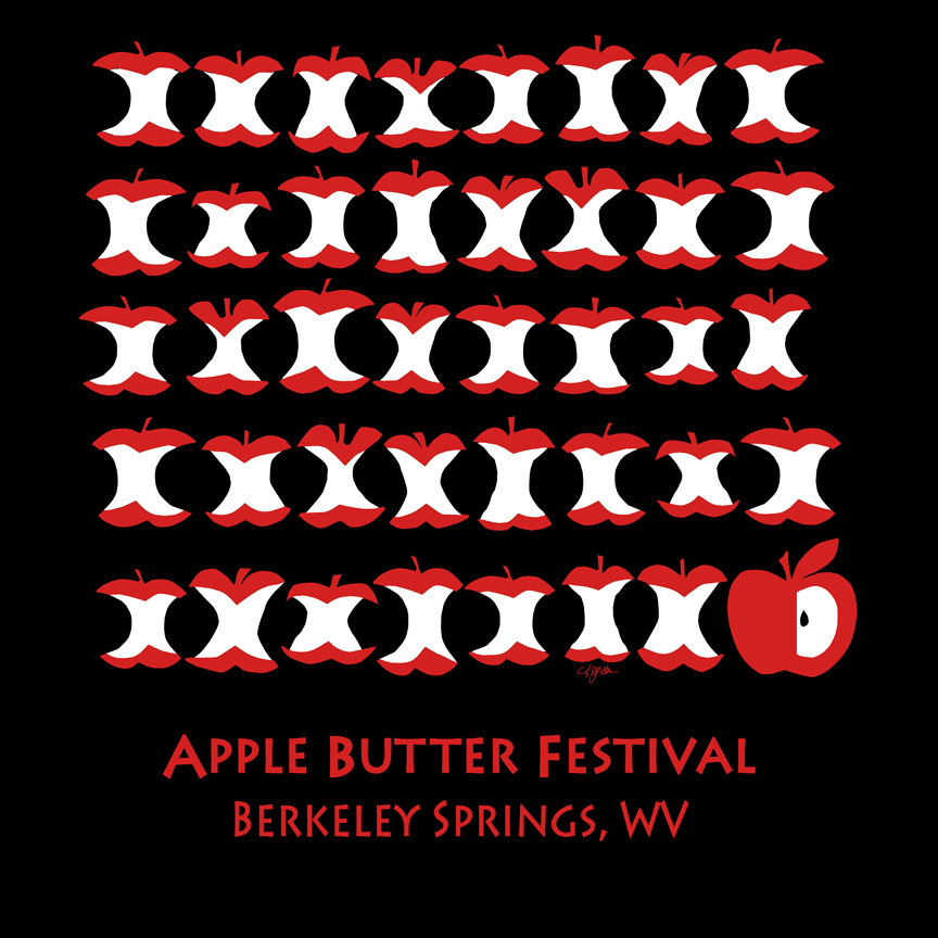 Apple Butter Festival T-Shirt 2013 40th Anniversary