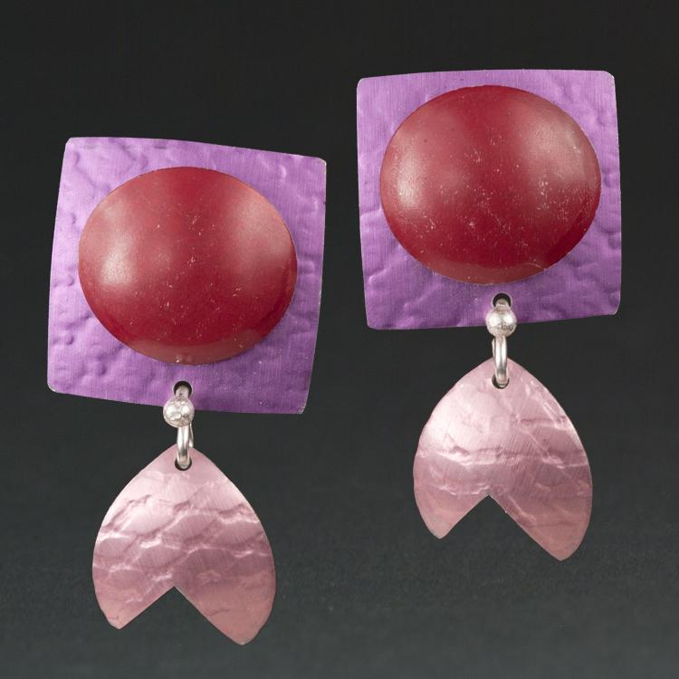 A - Violet, Red, Pink.