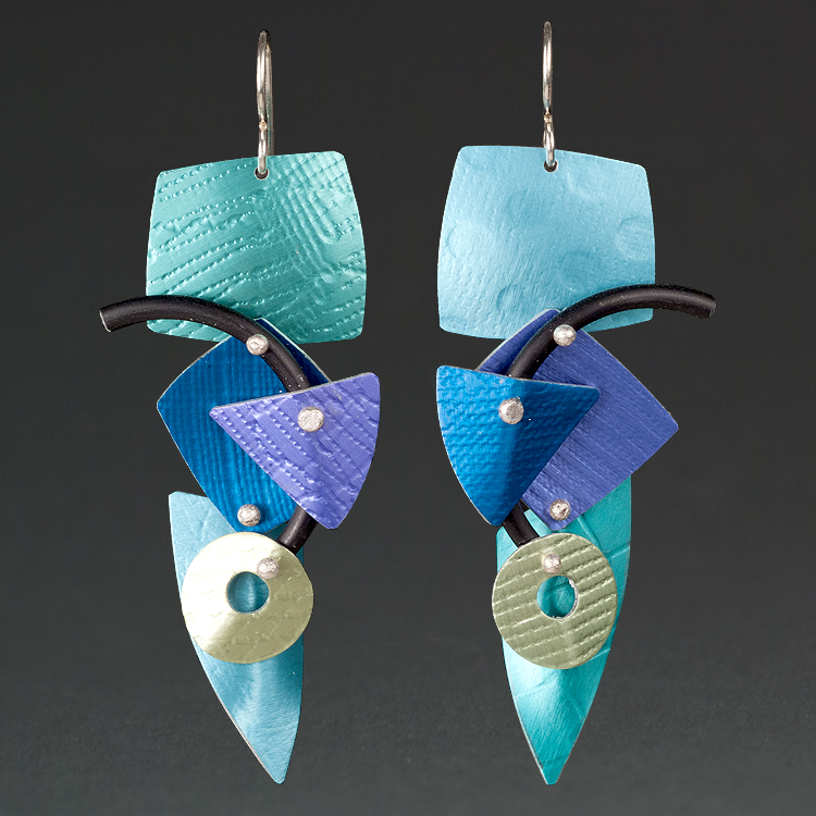 D - Turquoise, Royal, Aqua.