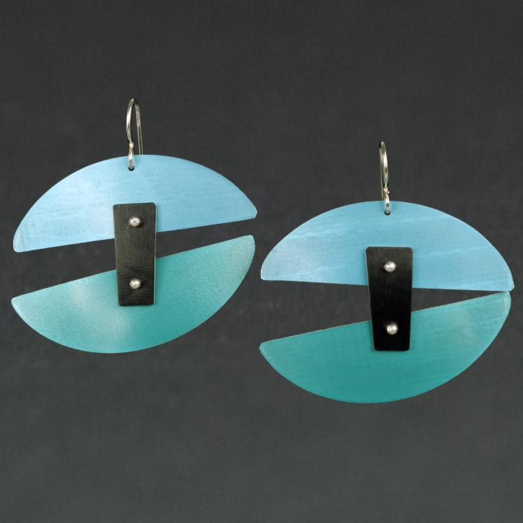 D - Aqua, Turquoise