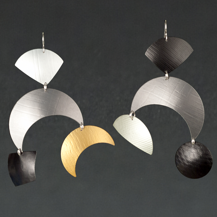 B - Silver, Grey, Black
