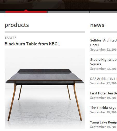 Blackburn Coffee Table