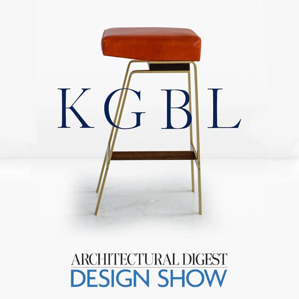 Architectural Digest Design Show 2016 - KGBL was excited to participate in the 2016 Architectural Digest Design Show. The Architectural Digest Design Show, the essential showcase for luxury design, took place at Piers 92 & 94 (55th Street at 12th Avenue) in New York City from March 17–20, 2016.The world's leading brands along with today's top talent came together in a carefully curated presentation of design, offering inspired vignettes by respected brands, design seminars, culinary demos, and special appearances. From furniture, accessories, lighting, and art to kitchen, bath, and building projects, the show offered thousands of products to source and shop—both from independent makers and established manufacturers.