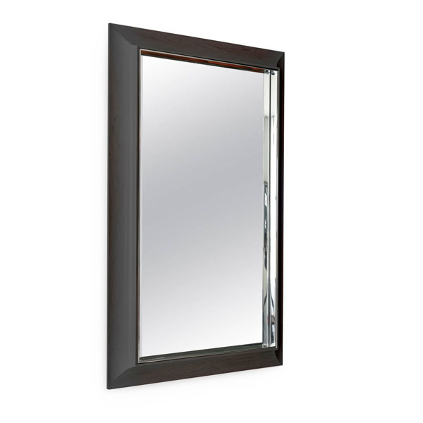 Zamora Mirror: Ebonized Mahogany
