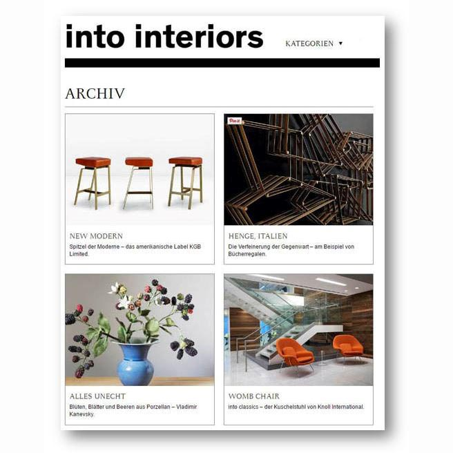 Into Interiors, Jan 2017