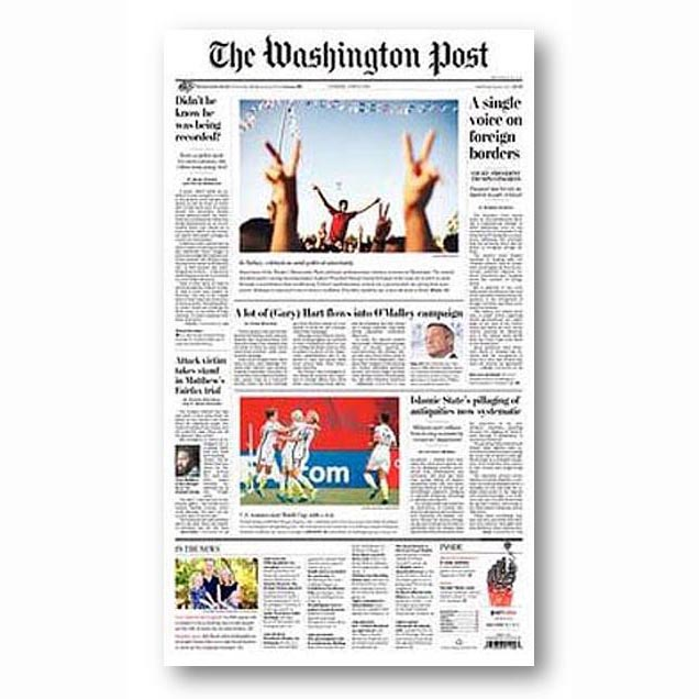 The Washington Post, June 2014