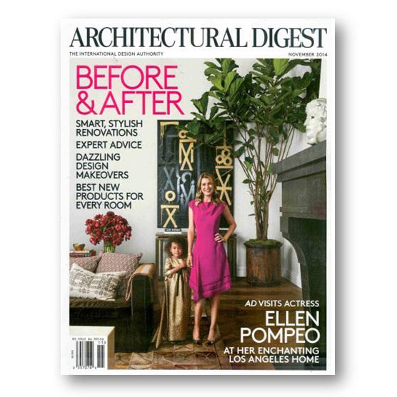 Architectural Digest, Nov 2014