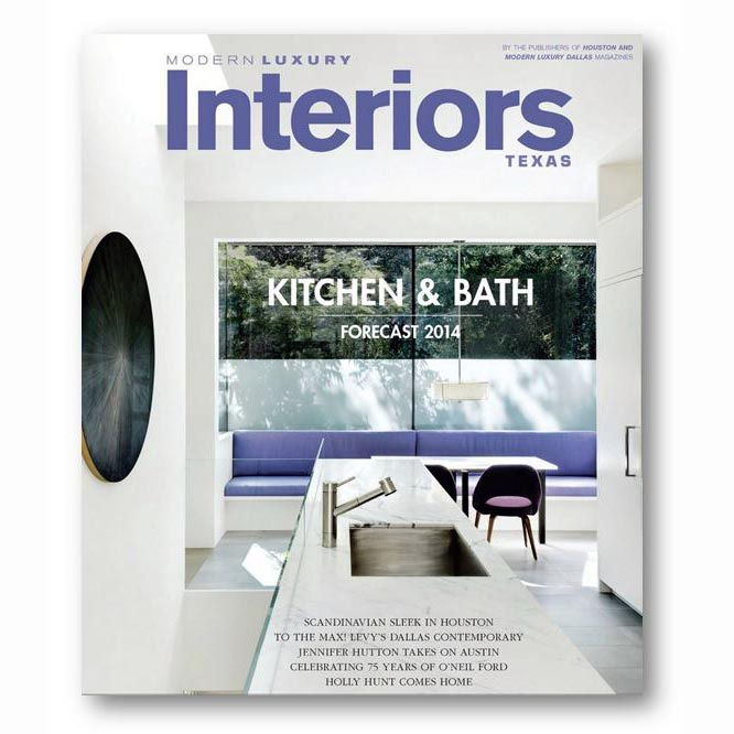 Modern Luxury Interiors, Spring 2014