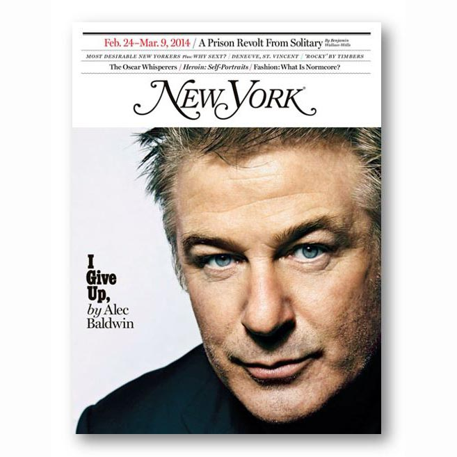 New York Magazine, Feb 2014
