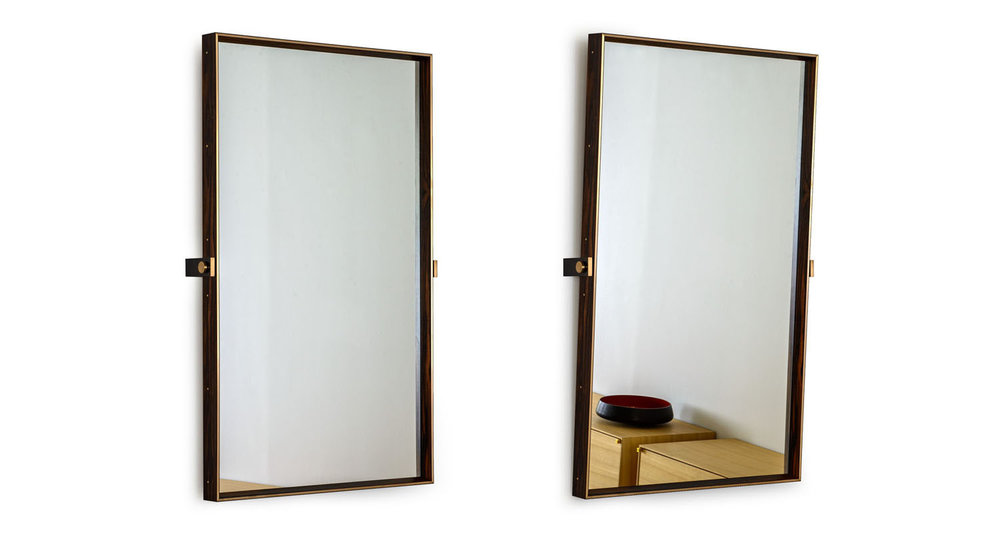 Bronze frame clad in African Ebony veneer