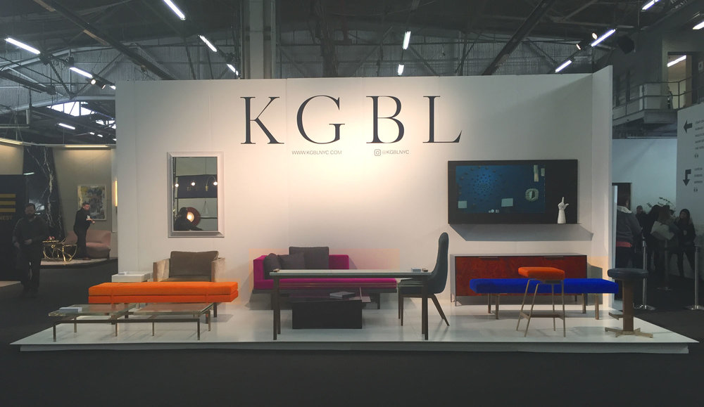 The KGBL Booth