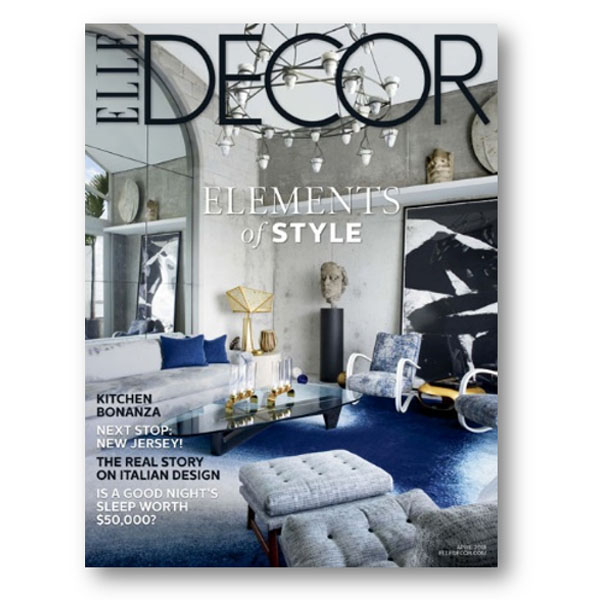 Elle Decor, Apr 2018
