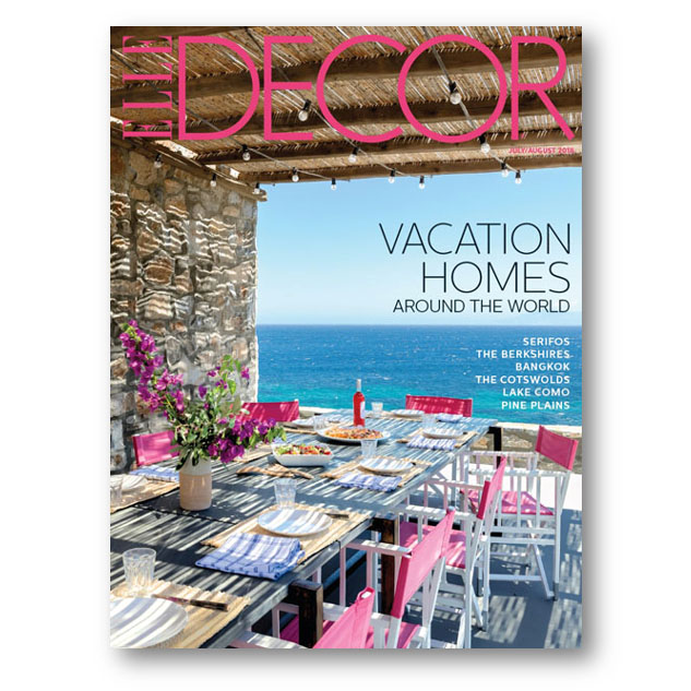 Elle Decor, July/Aug 2018