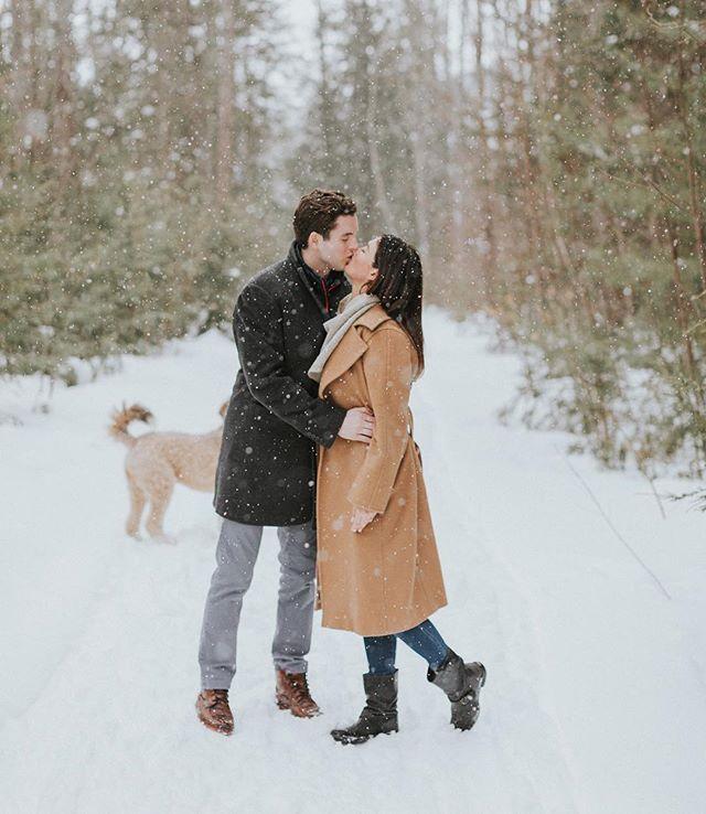 Quiet strolls in the snow with fresh mountain air and your favorites are the best. . . . . . . #snow #snowyengagement #whitechristmas #mainelifestyle #winterweddinginspiration #mainewedding #maineengagement #maineweddingphotographer #lifeasaleary #sundayfunday #editorialphotographer #belovedstories #junebugweddings #lookslikefilm #wedding #wanderingweddings #theknot #adventurouslovestories #greenweddingshoes #weddingphotography #loveauthentic #elopementphotographer  #justalittleloveinspo #loveintentionally #anotherwildstory #destinationweddingphotographer #love