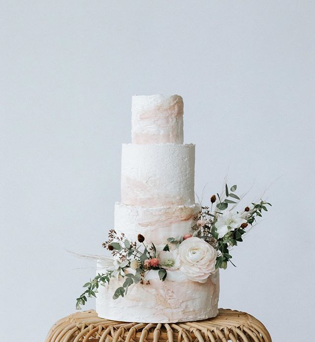 I want to blame my current sugar cravings on the antibiotics... but I'm going to blame @autumnnomad and her glorious cake art instead. ✨ . . . . . . Cannot wait to share more from this beautiful shoot at @scalesrestaurantportland . . #weddingcake #winternomad #autumnnomad #maineweddingphotographer #mainewedding #wedding #cake